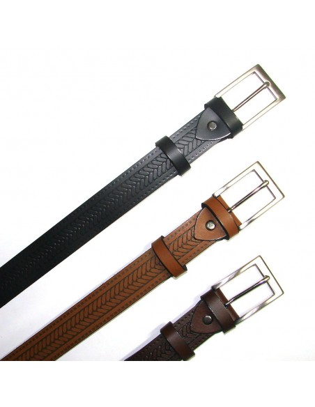 Cinturon de piel nº 58377
