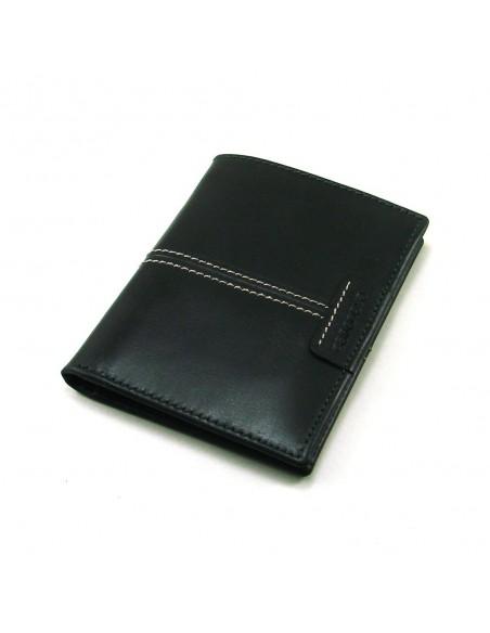 Cartera billetera de hombre de piel negro