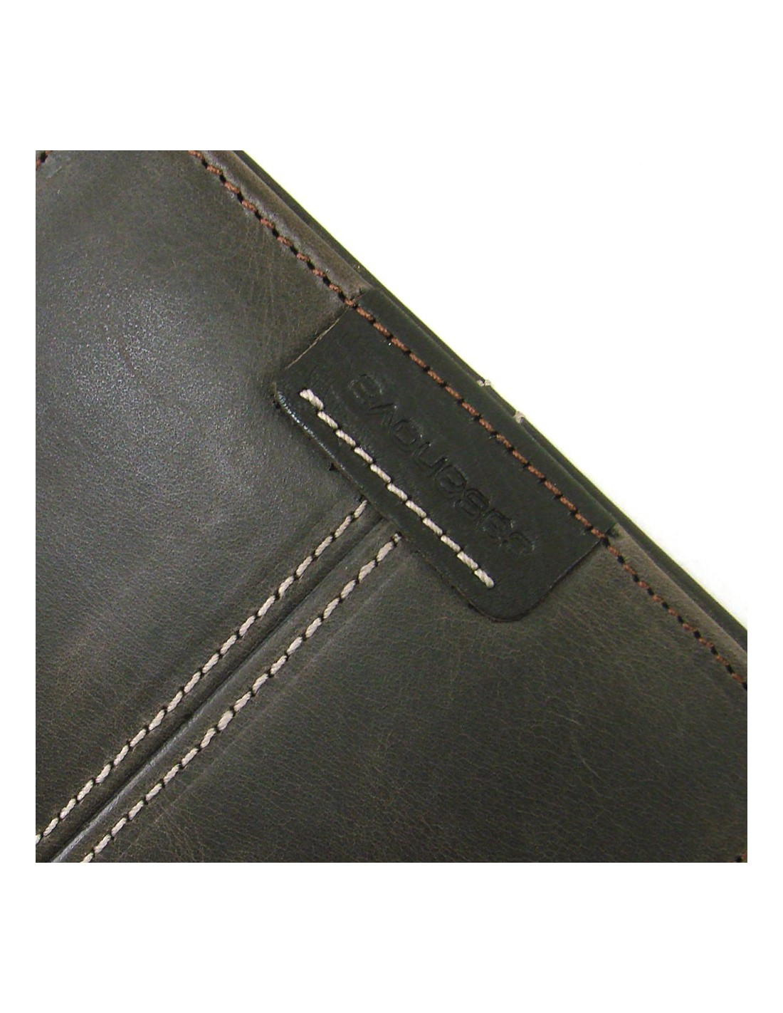 ee4318a70 Mini cartera monedero para hombre de piel marron