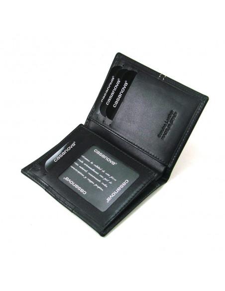 Cartera billetera para hombre de piel negro