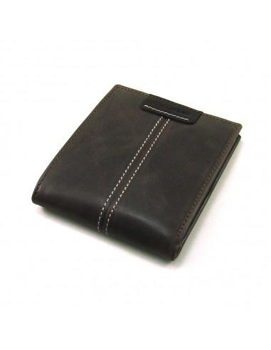 Cartera billetera hombre de piel marron