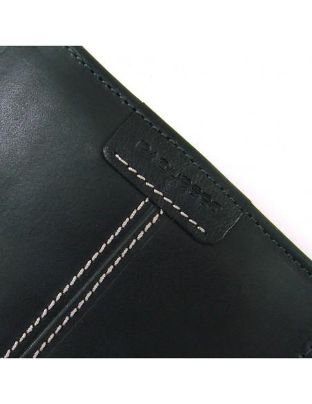 Cartera billetera hombre en piel negro