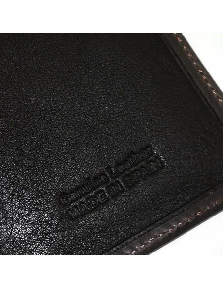Mini cartera de hombre de piel nº 15464